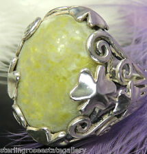 Vintage Authentic Ireland Connemara Clover Sterling Silver 0.925 Ring size 9.5