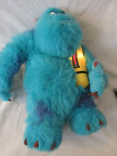 "SULLY MONSTER'S INC GLOWING BEDTIME LIGHT UP TALKING 14"" STUFFED PLUSH"