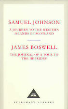 A Journey to the Western Islands of Scotland by Samuel Johnson, James Boswell...