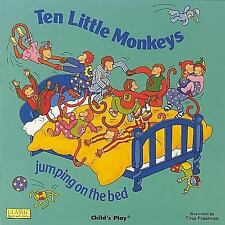 Classic Books with Holes Board Book: Ten Little Monkeys Jumping on the Bed...