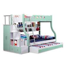 Modern Design Triple Bunk bed With Storage Space Free Melb Delivery