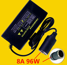 8A 96W 220V to 12V Car Cigarette Lighter Power Adapter Converter Transformer