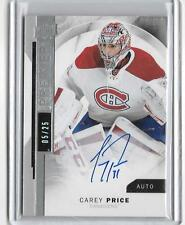CAREY PRICE 2015/16 UPPER DECK PREMIER SPECTRUM AUTOGRAPH AUTO #5/25-CANADIANS!!
