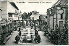 DARMSTADT Künstler-Kolonie am Ernst-Ludwig-Haus Anlagen 1911