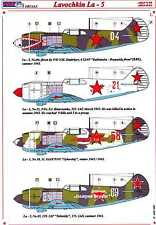 AML Models Decals 1/48 LAVOCHKIN La-5 Russian WWII Fighter with Photo Etch Set