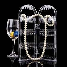 Earrings Ear Studs Necklace Jewelry Display Rack Stand Organizer Holder Storage