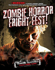 Zombie Horror Fright Fest! - 4  BADASS MOVIES! AWESOME DEAL - NEW DVD!