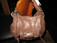 NWT  Kooba  Mini Jonnie Soft Glazed Cross Body Bag  Chocolate