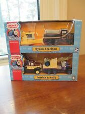 2 Box Lot Thomas the Train and Friends, Patrick & Kelly, Byron & Nelson