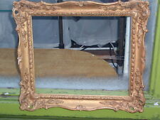 VINTAGE COMPOSITION GOLD GILT SWEPT PHOTO PAINTING PICTURE FRAME