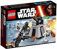 Lego Star Wars 75132 First Order Battle Pack MISB Offer