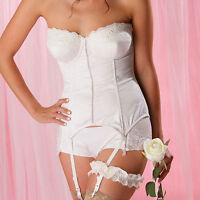Pour Moi Ceremony Padded Bridal Strapless Basque Ivory A-G (6505)