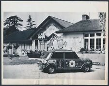 1969 Psychedelic House of George Harrison from the Beatles Vintage Photo