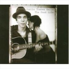 """JUSTIN  TOWNES EARLE """"THE GOOD LIFE"""" CD [VGC]"""