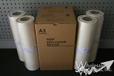 4 Masters Compatible With Riso S-2632 S-5467 For Risograph RZ MZ S5467 A3 HD87