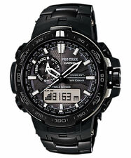 CASIO PRW-6000YT-1JF PRO TREK BLACK TITANIUM LIMITED EDITION JAPAN JDM