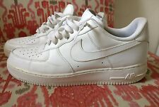 Nike Air Force 1 I One Low '07 size 12 All White Whiteout 315122-111