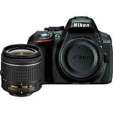 Nikon D5300 with AF-P 18-55mm VR Kit Lens