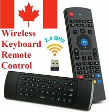 Android TV Box Wireless Remote Control Keyboard 2.4ghz for KODI, TV & Computer