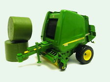 BRITAINS: 42710 'BIG FARM' JOHN DEERE 854 ROUND BALER - NEW