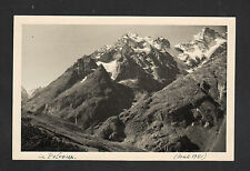 LE PELVOUX (05) MONTAGNE , Photo amateur en 1951