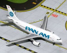 Pan Am A310-300 GJ-GJPAA1306 GeminiJets 1:400 Airbus A310 Diecast Model Airplane