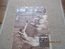 JOURNAL MIROIR DES SPORTS BUT CLUB 701 4 aout 1958 r christophe natation
