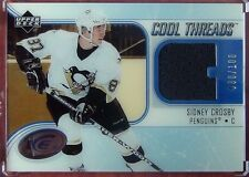 05-06 UD ICE COOL THREADS JERSEY SIDNEY CROSBY RARE #30/100 FROM THE RC YEAR