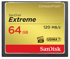 SanDisk 64GB CF Compact Flash Memory Card For Canon EOS 5DS Camera
