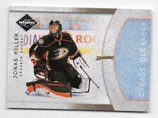 11/12 Panini Limited Jonas Hiller Crease Cleaners Insert /199