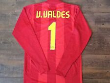 2007 2008 Barcelona Valdes Player Issue Camp Nou Goalkeepers Football Shirt