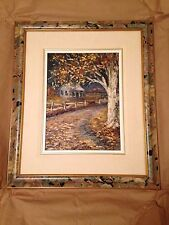 Original oil painting by Rita Archambault Desourdy Magie Lumineuse, 1984
