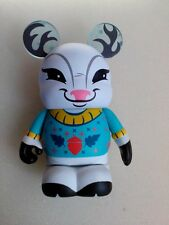 "DISNEY World VINYLMATION Park - 3"" Inch Set 5 Cutesters Snow Deer"