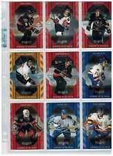 1999/2000 99/00 UD BLACK DIAMOND HOCKEY 120 CARD SET 30 SPS & ROOKIES 16/17 SALE