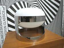 CHROME JOE COLOMBO KD 27 TABLE LAMP LEUCHTE KARTELL KD27 SPACE AGE, ITALY 1960s