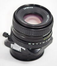 ARSAT PHOTEX ARAX 80mm 2.8 Tilt Shift Manual Lens Canon EOS Mount SLR DSLR