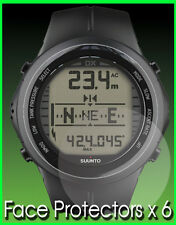 suunto dx titanium Watch Protectors  x 6 Protect your Watch Face from Scratches