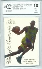 1996-97 Flair Showcase Class of 96  Kobe Bryant Rookie Graded BCCG 10