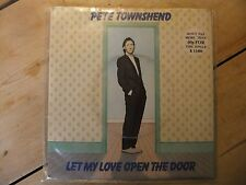 THE WHO - PETE TOWNSEND LET MY LOVE OPEN THE DOOR UK 7""