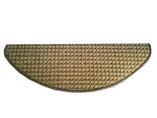 Copriscalini per scale interne ed esterne a disegno rigato marrone con forma a m