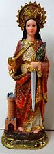 NEW - Santa Barbara / Saint Barbara STATUE 12 Inch 6494-12 NEW
