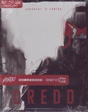 BLURAY - DVD - BLURAY 3D - DREDD - MONDO STEELBOOK Brand New! Best Buy Exclusive