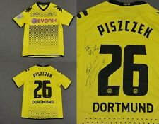 Kappa BVB Borussia Dortmund Home Player Issue Jersey 2011-12 PISZCZEK Signed /L