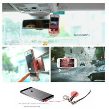 MINI suction-cup vehicle-mounted MOBILE PHONE stents salvare spazio DUSTPROOF PLUG