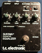 vintage tc electronics sustain + parametric equalizer RARE ! great precise tone