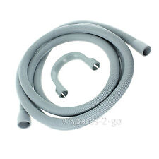 Outlet Drain Hose Pipe  For Bosch Washing Machine 2.5M Kit
