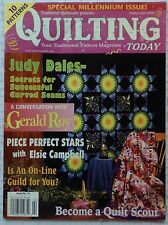 Quilting Today Magazine 2000 Piece Perfect Stars Become A Quilt Scout