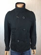 G-Star Raw Mens Black Double Breasted Biker Jacket Size L