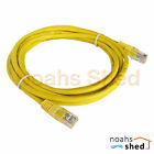 3M Meter CAT5e UTP RJ45 Data LAN Network Ethernet Cable Patch Lead Cord Yellow