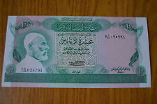 BANCONOTA LIBIA CENTRAL BANK OF LIBYA 10 DINARS SUBALPINA